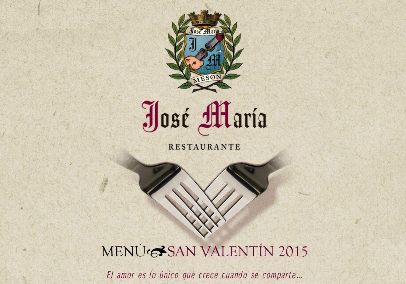 menu san valentin 2015