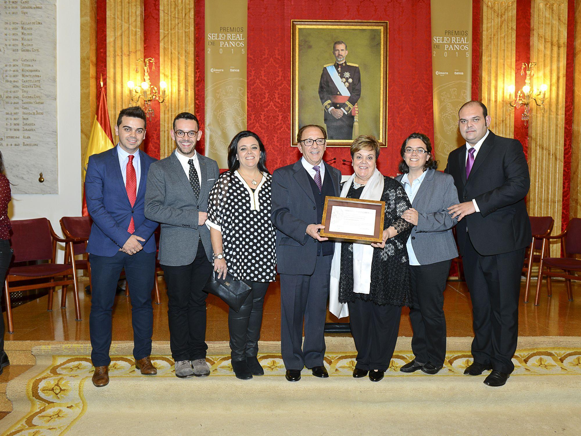 Ganadores del XV Premio Familia Empresario de Castilla y León
