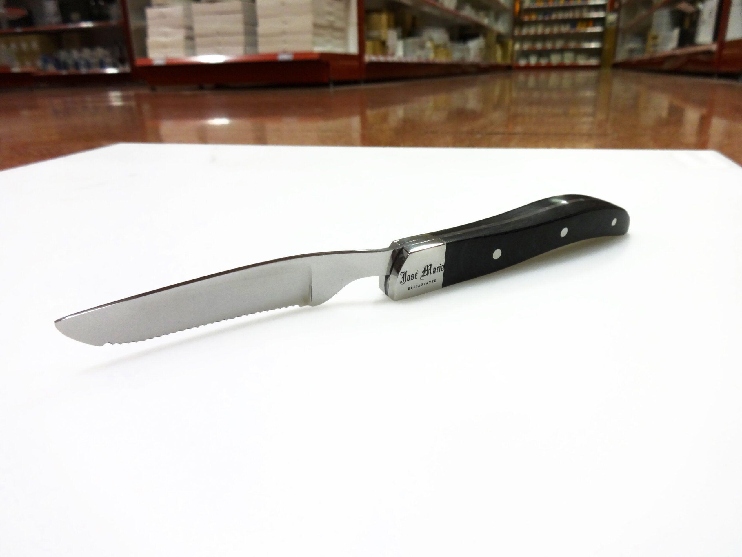 Cochinillo de Segovia: nuevo cuchillo del Restaurante José María