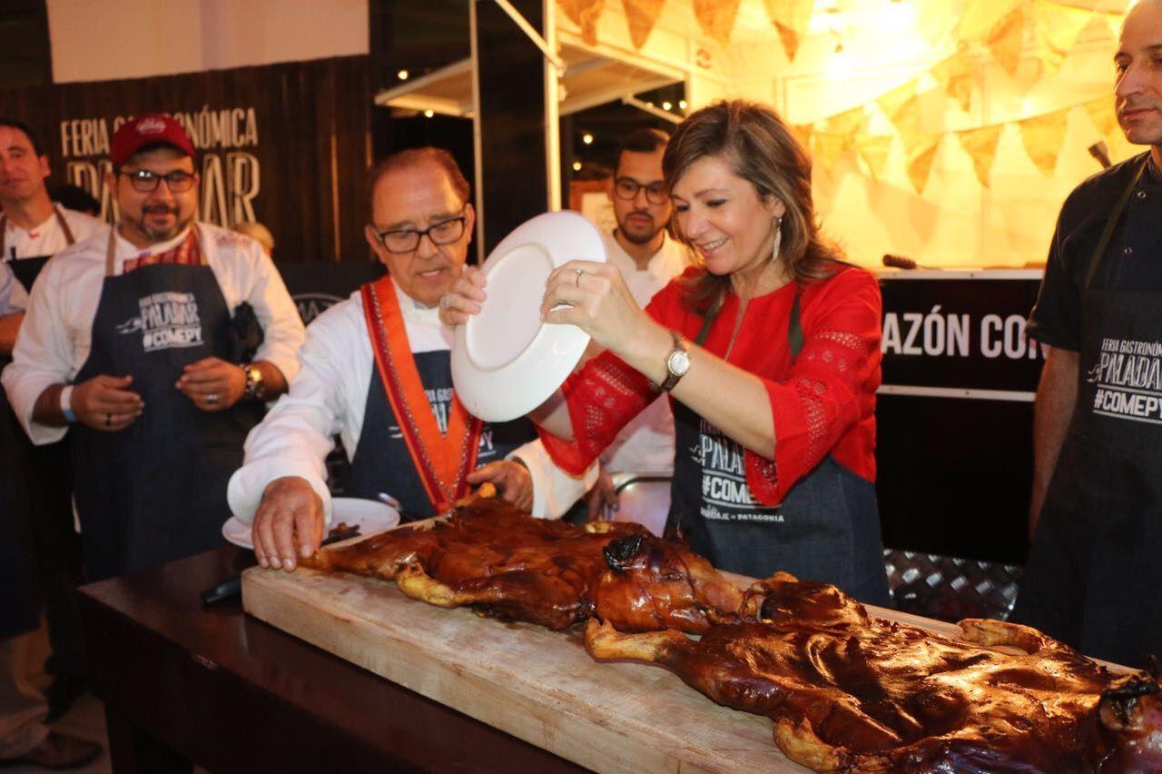 José María Ruiz invitado especial a la Feria Gastronómica Paladar de Paraguay