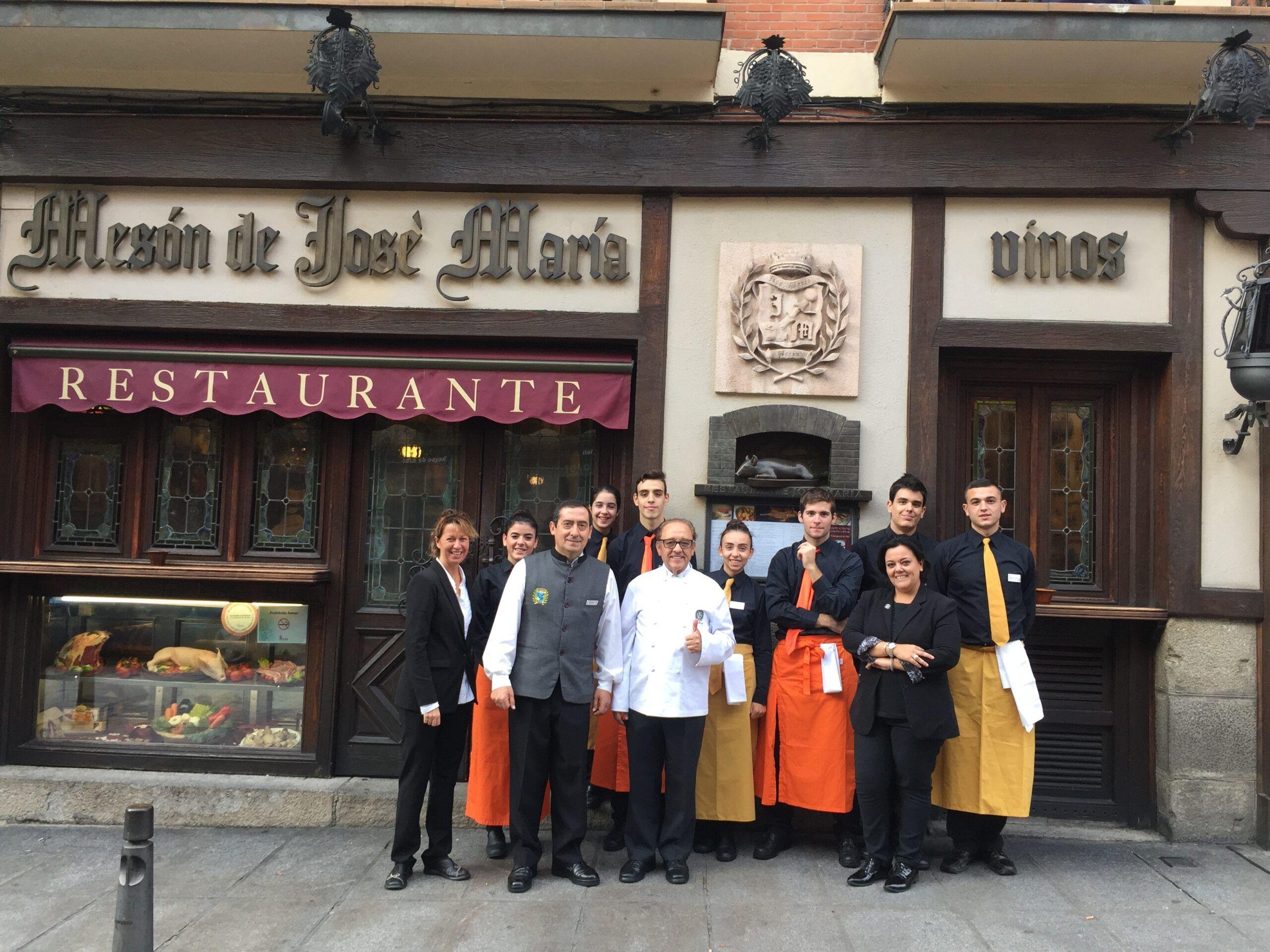 Una jornada con los alumnos del CIFP Felipe VI en nuestro Restaurante José María
