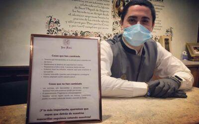 Reapertura del bar del restaurante José María