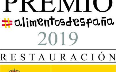 Restaurante José María recoge el premio 'Alimentos de España en restauración'